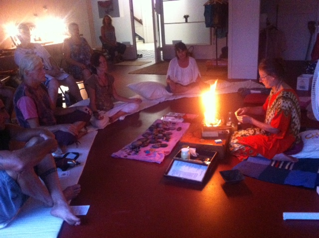 Agnihotra workshop - Grafton NSW March 2016