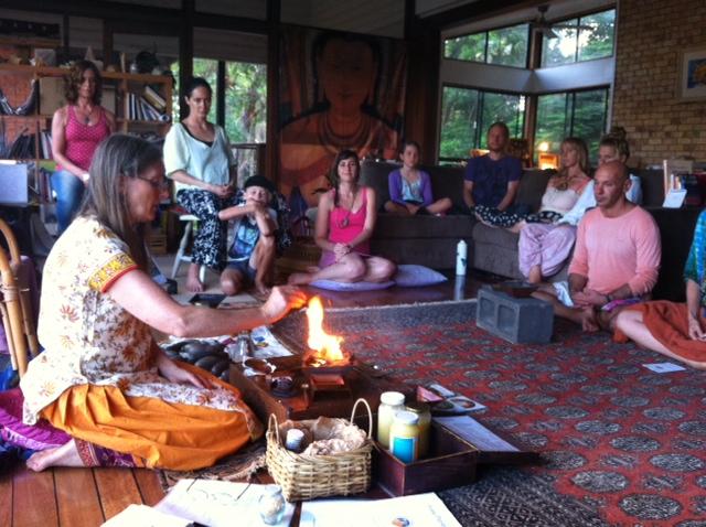 Agnihotra workshop - Mullumbimby NSW 2016